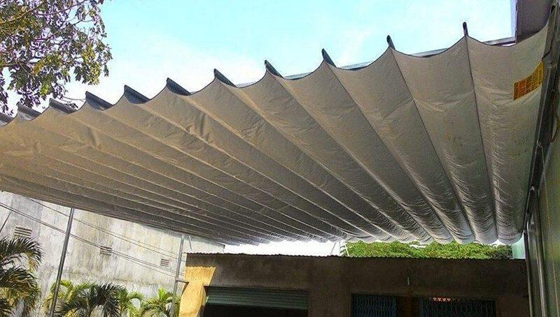 Sử dụng mái xếp lượn sóng Phương Trang có tốt không